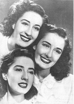 Sisters Meireles, Famous Portuguese singers from the 40's