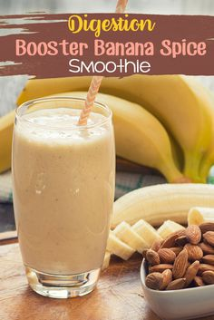 Digestion Booster Banana Spice Smoothie