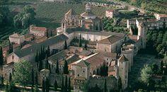 Poblet Monastery. Monasterio de Poblet