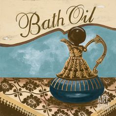 Bath Accessories II Art Print by Gregory Gorham at Art.com