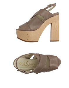 Ouigal Women Sandals on YOOX. The best online selection of Sandals Ouigal. YOOX exclusive items of Italian and international designers - Secure payments Shoes Sandals, Heels, Clogs, Peep Toe, Footwear, Products, Fashion, Heel, Clog Sandals