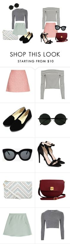 """60s inspiration"" by soltys-dagmara on Polyvore featuring moda, Gucci, 10 Crosby Derek Lam, CÉLINE, STELLA McCARTNEY, The Code, Valentino i Glamorous"