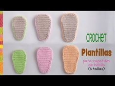 Crochet Patterns Unisex Today we are going to learn how to crochet the easiest insoles for baby shoes. Crochet Shoes Pattern, Baby Shoes Pattern, Crochet Patterns, Crochet Baby Sandals, Crochet Slippers, Crochet For Beginners, Crochet For Kids, Baby Shoes Tutorial, Diy Crafts Crochet