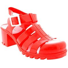 Womens Buckle Jelly Festival Vacation Retro Gladiator Mid Heel Sandals - Coral - 5 - 36 - CD0114 Viva http://www.amazon.com/dp/B00SBEWWL2/ref=cm_sw_r_pi_dp_d2k7vb16X2XCJ