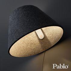 Pablo laluce licht&design chur Led Wall Lamp, Led Module, Timeless Design, Wool Felt, Bulb, Chur, Space, Craft, Products