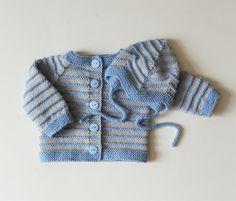 Gestrickte Baby Boy Set Neugeborenen jungen Outfit Licht blau junge Babypullover und Hut Merinowolle eingestellt MADE TO ORDER