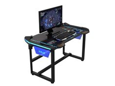 Find a gaming computer desk with our comprehensive guide, includes ratings, prices, pictures and more. Compare gaming desk that are meant for gamers.