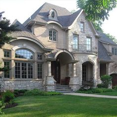 Brick And Stone Exterior Design, Pictures, Remodel, Decor and Ideas