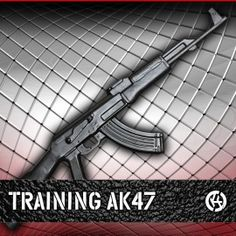 Original Rubber Training AK47