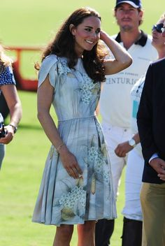 The Duchess of Cambridge attends the Foundation Polo Challenge in Carpinteria, Calif., in July 2011. The event benefits the American Friends of the Foundation of Prince William and Prince Harry, a charity which supports disadvantaged children, conservation and sustainable development, veterans and military families.