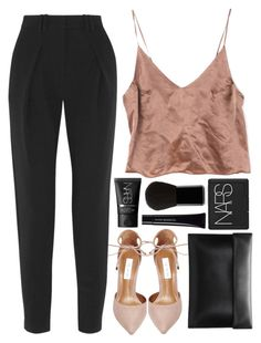 Untitled #127 by veronika-m on Polyvore featuring Proenza Schouler, Steve Madden, NARS Cosmetics, Edward Bess and Shiseido