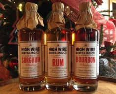 High Wire Distilling Debuts Three New Spirits