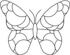"""Résultat de recherche d'images pour """"papillons en mosaique"""""""