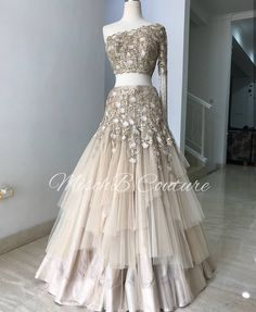 Pearl_designers Book ur dress now Completely stitched Customised in all colours For booking ur dress plz dm or whatsapp… Indian Reception Outfit, Indian Wedding Outfits, Bridal Outfits, Indian Outfits, Bridal Dresses, Reception Dresses, Indian Engagement Outfit, Engagement Dresses, Party Wear Lehenga