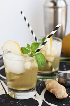 Asian Pear and Ginger Sparkler: http://www.stylemepretty.com/living/2014/11/24/25-perfect-for-thanksgiving-cocktails/