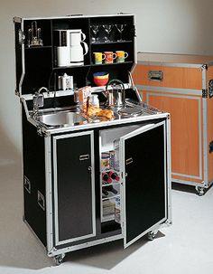 kitcase, Die Küche im Koffer