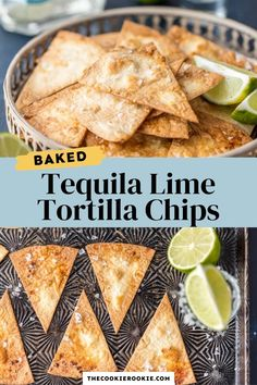 Tequila Lime Tortilla Chips are an easy way to add extra flavor to chips and dip or nachos. These baked tortilla chips are baked instead of fried, and so easy to make. This simple healthy tortilla chips recipe can be made in minutes at home, using soft flour tortillas. Healthy Tortilla Chips, Flour Tortilla Chips, Healthy Chips, Flour Tortillas, Healthy Snacks, New Easy Recipe, Fun Easy Recipes, Party, Recipes