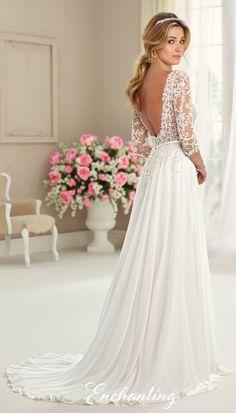 Wedding Dress Inspiration - Enchanting by Mon Cheri