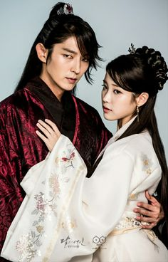 My new favorite ship!! Moon Lovers: Scarlet Heart Ryeo