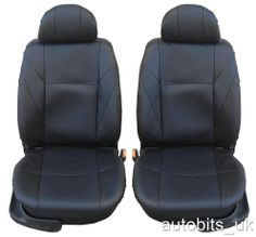 FRONT LEATHERETTE 1+1 SEAT COVERS FOR VW CADDY TRANSPORTER T4 T5 MULTIVAN PASSAT