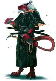 Sheng Long by Zicuta Male dragon Pathfinder from Rise of the Rune Lords RPG character inspiration - warrior / mage Fantasy Races, Fantasy Warrior, Fantasy Rpg, Fantasy Artwork, Fantasy Samurai, Dungeons And Dragons Characters, Dnd Characters, Fantasy Characters, Character Concept