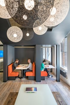 M Moser Associates San Francisco Offices. I like the small spaces that allow 2-3 people to work.