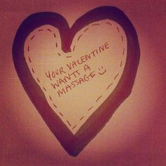 Your Valentine called & said they want a massage from MB Massage Studio :-) http://www.mbmassagestudio.com/gift-card