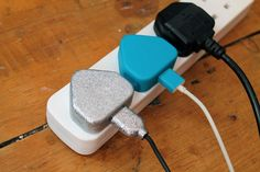Paint your charger so you always know which one is yours! Tutorial