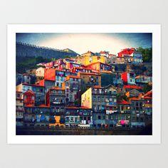 Porto  Art Print by Brianna Clare - $18.72