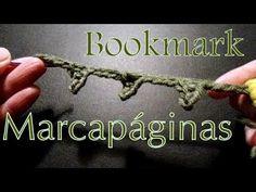 Cómo hacer un marcador de libros (crochet flower bookmark) -tejido para ...