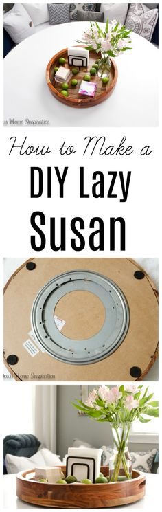 Diy Furniture Projects, Diy Projects, Diy Lazy Susan, Diy Crafts For Kids, Craft Ideas, Diy Ideas, Creative Crafts, Cool Things To Make, A Table