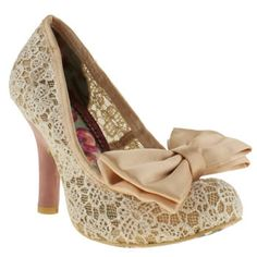 Womens Natural Irregular Choice Iced Gem High Heel | schuh