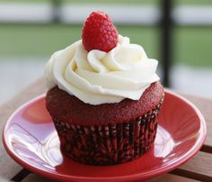 Receta de San Valentin... Cupcakes Red Velvet