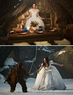 Mirror Mirror (2012) Starring: Lily Collins as Snow White and Joe Gnoffo as Grub. (click thru for larger image)