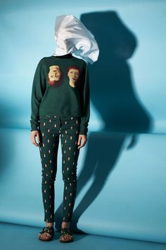 Opening Ceremony celebrates René Magritte, by Vogue Spring/Summer 2014 Moda Fashion, Fashion News, Fashion Art, High Fashion, Fashion Design, Anti Fashion, Fashion Beauty, Rene Magritte, Collection Capsule