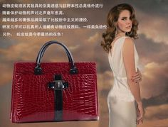 Free shipping 2013 New Luxury OL Lady Women Crocodile Pattern Hobo Handbag Tote Fashion Bags Lady PU Shoulder B693 $18.59