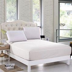 White Solid  Bedding Item 100/% Cotton Super Deep Pocket 700 Thread Count**