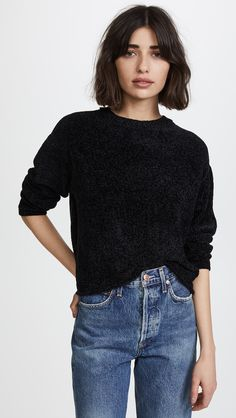 Z Supply The Chenille Cropped Pullover | SHOPBOP