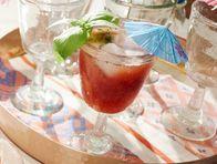 Strawberry-Basil Agua Fresca