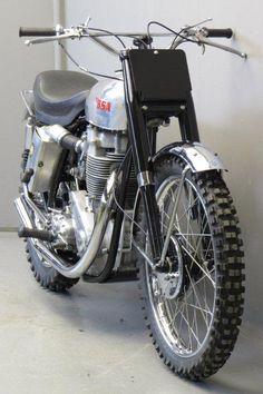 BSA 1957 Gold Star scrambler 500cc 1 cyl ohv