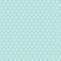 Cotton Pastellblume 3 - Baumwolle - türkis
