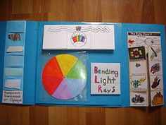 This lapbook site has LOTS of foldables and activity ideas for a unit on light and color.