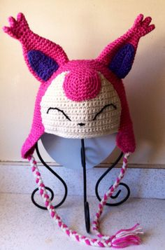 Hey, I found this really awesome Etsy listing at http://www.etsy.com/listing/173976510/skitty-inspired-hand-crochet-adult-size
