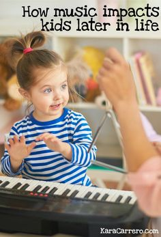 How music impact kids later in life and the benefits of music for babies and toddlers can boost their cognitive, lingual, and mathematical development!