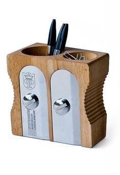 Déco enfant : Pot à crayon designé pas Jamie & Marc Antoniades - Déco bureau d'enfants rentrée 2013