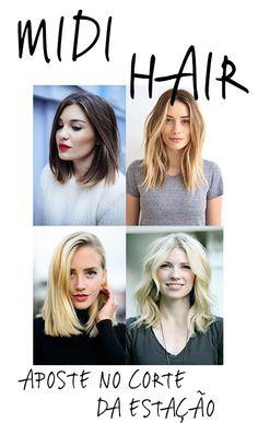 """aposte nos """"Midis""""  http://www.fashionmelon.com.br/aposte-na-praticidade-dos-midi-hairs/"""