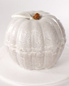 Perfect for our annual halloween dinner party - use two bundt cakes instead of a special pan