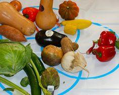 Nancy Nolan's Kindergarten: Venn diagram to sort Vegetables the children brought from home.