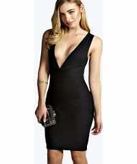 boohoo Plunge Neck Bandage Bodycon Dress - black azz10261 With its form-fitting bandage design, this bodycon dress works hard to make people go wow!. Seriously statement, style with barely-there heels , an envelope clutch and hoop earrings and let the dress  http://www.comparestoreprices.co.uk/dresses/boohoo-plunge-neck-bandage-bodycon-dress--black-azz10261.asp