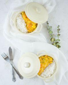 Kürbis geht einfach immer. Ich liebe es, wenn Rezepte schnell zubereitet sind und einfach sind. Ein Eggs, Breakfast, Food, Pumpkin Curry, Just Go, Dinner Ideas, No Sugar, Eat Lunch, Healthy Recipes